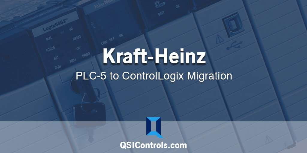Kraft Heinz PLC-5 to ControlLogix Migration