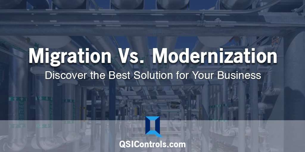 Controls Migration vs. Controls Modernization