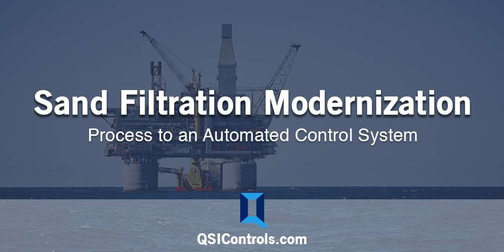Sand Filter Automation: From a Manual Process to an Automated Control System