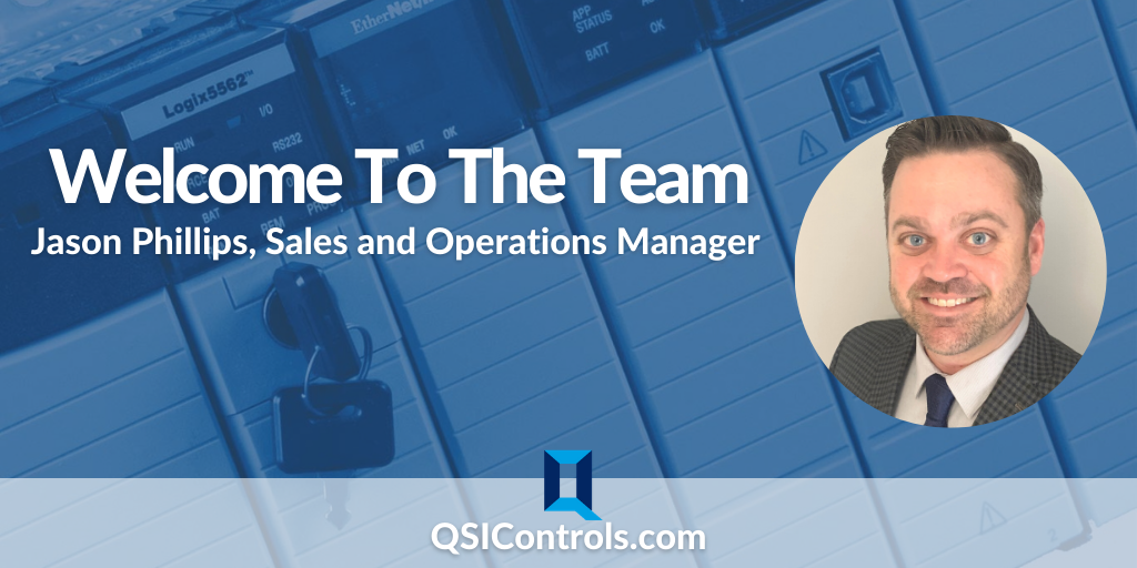 QSI Welcomes Jason Phillips, QSI's new Sales and Operations Manager