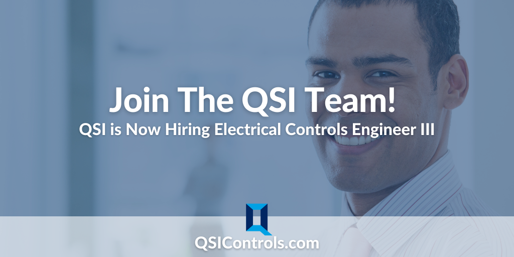 Now Hiring: Electrical Controls Engineer III